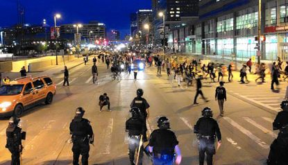 Harford police agencies helped throughout Baltimore riots, demonstrations