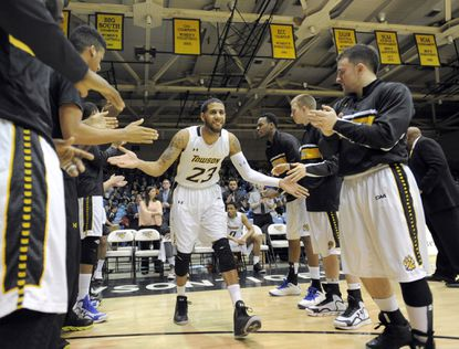 Point guard Mike Burwell will be one of the toughest players for Towson to replace, but they have two options.