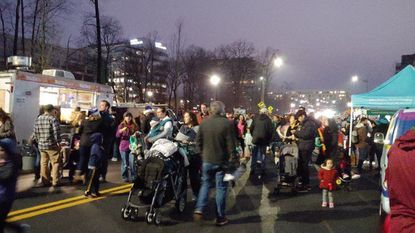 More than 4,500 people attended the Festive Families Walk on Sunday, Dec. 2 at the Symphony of Lights. The lights will be on display for cars Wednesdays through Sundays through Dec. 30.