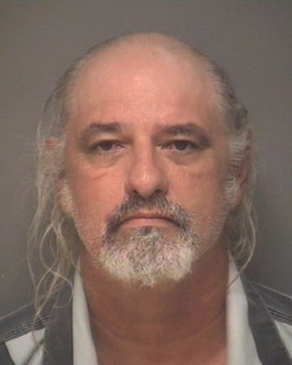 This undated photo provided by the Albemarle-Charlottesville Regional Jail shows Richard Wilson Preston, who is charged with discharging a firearm within 1,000 feet of a school during the Aug. 12, 2017, white nationalist rally in Charlottesville, Va.