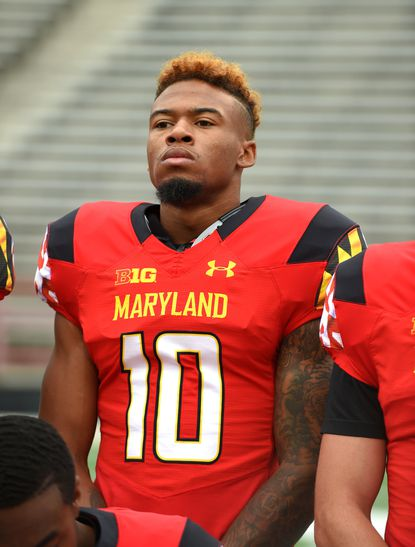 Laurel resident Will Ulmer is getting comfortable after making the position switch from quarterback to wide receiver at the University of Maryland.