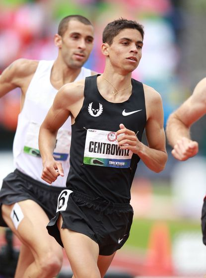 Matthew Centrowitz, a former high school star at Broadneck, finished second in the 1,500 meters at the U.S. Olympic Trials and will run the race in London.