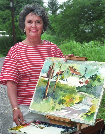 Mary L. Seward-Miller was a noted Baltimore watercolorist who was known for her cityscapes, whimsical country scenes, winterscapes, Maine seascapes and still lifes.