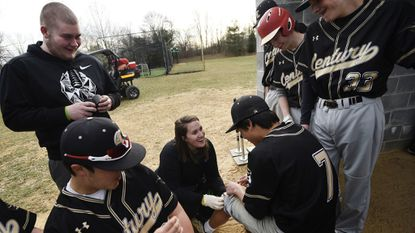High School Sports: Liz Koehling does 'a lot of good' as Century's athletic trainer