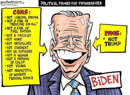 Pros and cons for Joe Biden