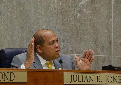"""Baltimore County Councilman Julian Jones said of affordable housing efforts, """"When you start talking about bringing people into [existing] communities, people get fearful. I understand those things."""""""
