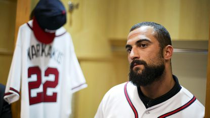 Former teammates miss Nick Markakis at Orioles' annual FanFest event