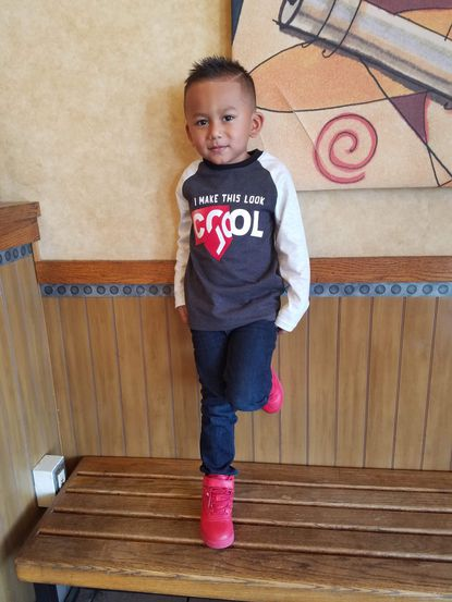Police say 4-year-old Diland Cruz-Hernandez was last seen with his father 36-year-old Adonis Cruz-Reyes in Baltimore traveling in a dark colored Jeep Cherokee with a Virginia tag that reads KEILA5.