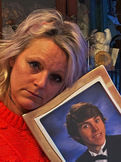 April Babcock has put her energy into making other parents, teens and young adults aware of the lethality of fentanyl, the opioid that caused her son Austen's death in 2019.
