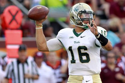 William & Mary quarterback Steve Cluley has not thrown an interception in his past 115 attempts.