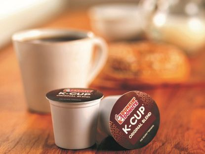 Free samples of Dunkin' K-cups or ground coffee
