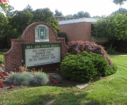 The Bel Air Town Commissioners rejected a proposal Monday night to add a one-time payment to the pension fund for town employees.