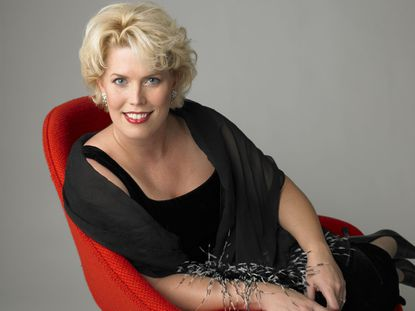 "Soprano Caroline Worra, who sings the role of Geltrude in ""Amleto"" with Baltimore Concert Opera"