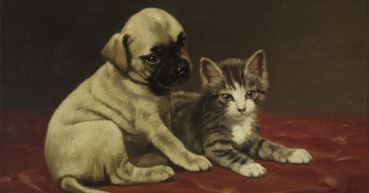 The Walters shows off works in its collection depicting doggos and kitties tonight