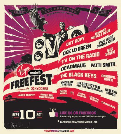 Virgin Mobile FreeFest 2011 logo
