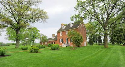 Frank Bunch lives in a colonial-era, historic home on more than 75 acres near Chestertown.