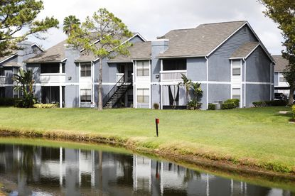 "The apartment complex in Tampa, Florida, where Graham Ivan Clark lived alone and was arrested. Florida prosecutors said the teenager was the ""mastermind"" of a prominent hack last month, in which he tricked his way into Twitter's systems and took over the Twitter accounts of some of the world's most famous people."