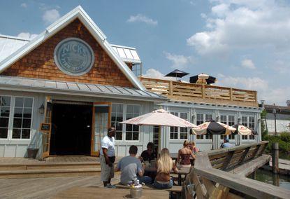 Nick's Fish House on Insulator Drive in Port Covington.