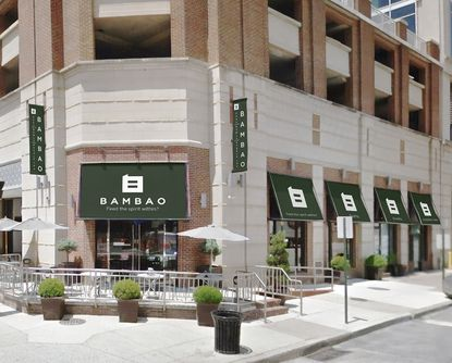 Bambao is located at the corner of Aliceanna Street and Central Avenue in Harbor East.