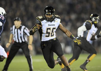 Towson's back-to-back CAA titles led Ryan Delaire to choose the Tigers when he decided to transfer from Massachusetts.