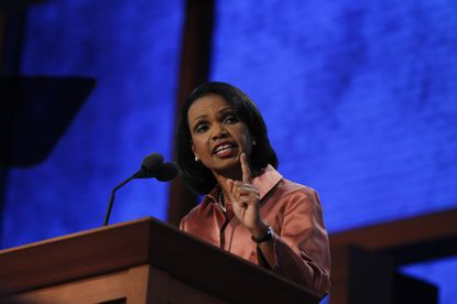 Former Secretary of State Condoleezza Rice last year withdrew as commencement speaker at Rutgers after faculty protested. Conservative commencement speakers are outnumbered by liberals six to one at the top 100 universities this year, according to one study.