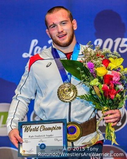 Woodbine's Kyle Snyder, 19, becomes youngest U.S. world wrestling champion