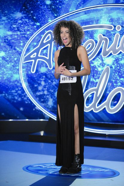 """Shi Scott, who grew up in Belcamp, auditioned for """"American Idol"""" in New York and made it through to Hollywood Week."""