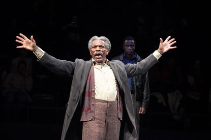 "André De Shields as Stool Pigeon in ""King Hedley II"" at Arena Stage"