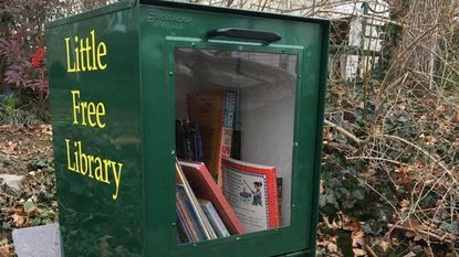 Little free library in Laurel