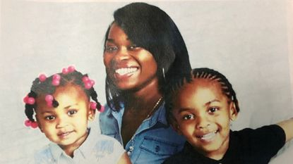 Police are searching for 26-year old Jamerria Hall and her two children, Da'Neira Thomas, 3, and Davin Thomas Jr., 5.