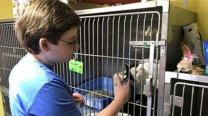 Clarksville teen's love of animals leads to $1,500 gift to Ellicott City shelter