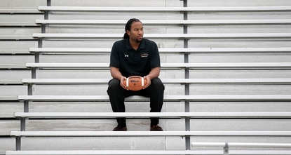 Justin Carey, who was head varsity football coach at Hammond High School for the last three seasons, has moved to the same position at Atholton High School.