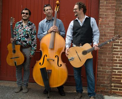 Hot Club of Baltimore performs at Germano's Piattini on Oct. 10.