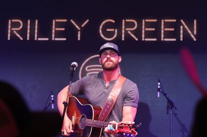 Riley Green performs onstage at Spotify House during CMA Fest at Ole Red on June 09, 2019 in Nashville, Tennessee. Green will be the headliner at the annual Carroll County 4-H and FFA Fair concert on Thursday, Aug. 1 at the Carroll County Agriculture Center.