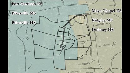 School boundary study to decide where students from new Lutherville development will be districted