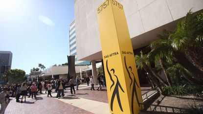 SAG-AFTRA headquarters on the Miracle Mile in Los Angeles.