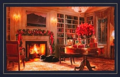 White House holiday card