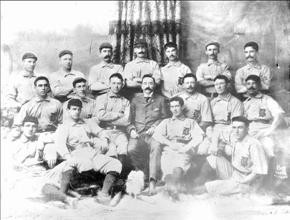 The 1896 Orioles did what it took to win, from blocking base runners to hiding balls in the oufield to bunting a pitcher batty.