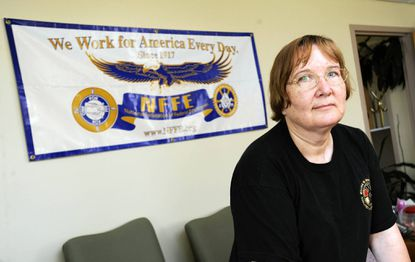 Mary Theresa Nipwoda, a lab technician at Aberdeen Proving Ground, took steps to prepare for the 20 percent pay cut that she and other Defense Department civilian employees face as they are furloughed as part of sequestration.