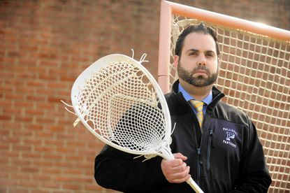 Joe Stanilaus is a first-year head coach for St. Vincent Pallotti's boys lacrosse program.