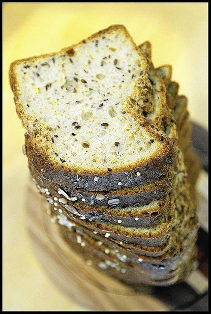 Atwater's Gluten-Free Seedy Sandwich Loaf. Bread porn for the gluten-free