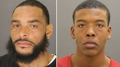 Charles Rheubottom, 37, and Darryon Cephas, 18, were arrested Sunday evening on various charges after police said they seized guns and marijuana from a city residence.