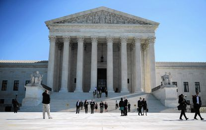 """The justices of the Supreme Court will hear arguments over one of former President George W. Bush's """"signing statements"""" in a case that could decide when, if ever, the nation's chief executive may ignore a law passed by Congress."""