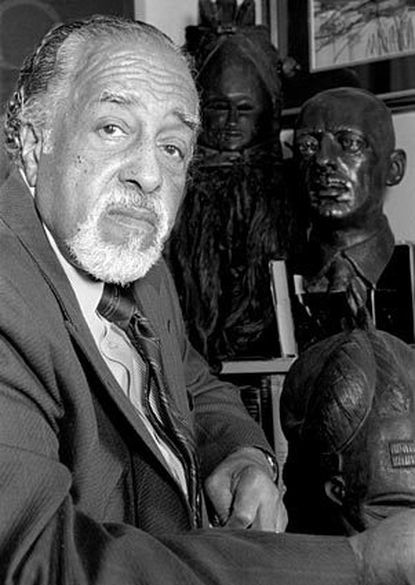 James E. Lewis, prominent Baltimore artist and longtime chairman of the art department at Morgan State University