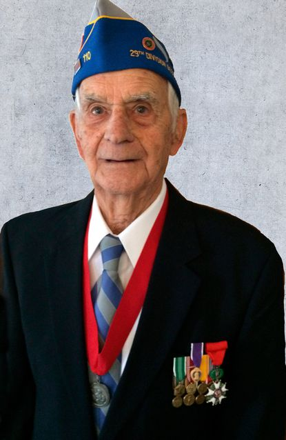 SFC Walter W Heline landed on Omaha Beach on June 6, 1944, with the 224th Field Artillery. At 98, he was the oldest member of VFW Post 9083 in Parkville when he died last month.