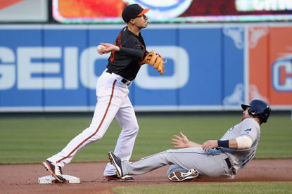 Orioles recall Ryan Flaherty from Norfolk, start him at third in J.J. Hardy's absence