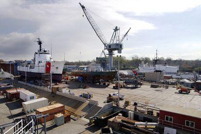 Curtis Bay Coast Guard Yard