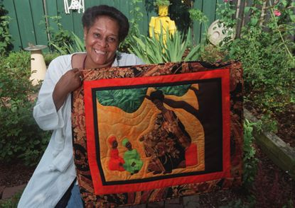 Barbara Pietila, a Baltimore quilt artist shown in a 1999 file photo, died Saturday at age 77.