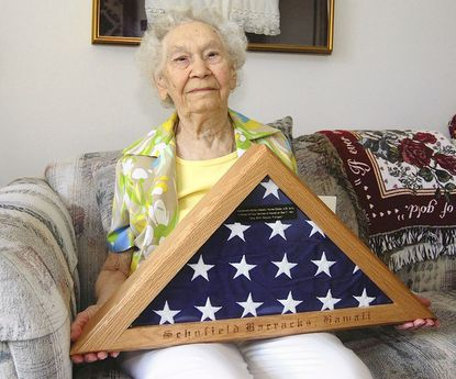 Myrtle M. Watson, an Army nurse whose indelible memories of the Dec. 7, 1941, attack on Pearl Harbor remained with her for the rest of her life, died Feb. 11 of vascular disease at Oak Crest Village. The Northeast Baltimore resident was 98.