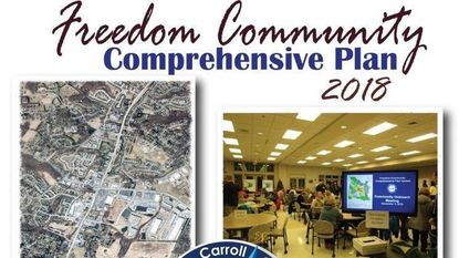 2018 Freedom Community Comprehensive Plan cover.